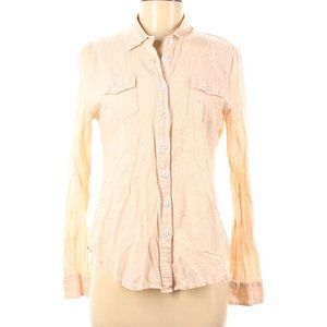 A is for Audrey Long Sleeve Button-Down Shirt M